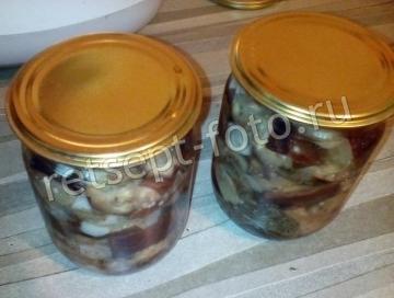 Баклажаны как грибы на зиму (в мультиварке)