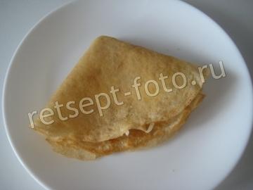 Блины с сыром на кефире