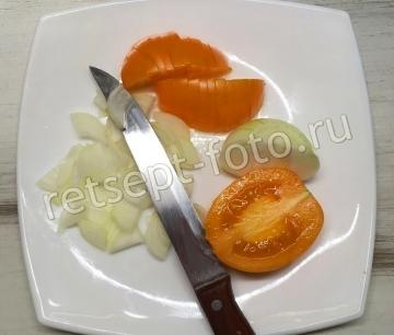 Борщ с фасолью без капусты и картошки