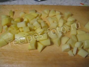 Борщ. Рецепт с фасолью и со свеклой на ребрышках