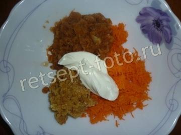 Детский салат из моркови и яблок для ребенка 1,5 года