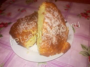 Финский кекс на сметане