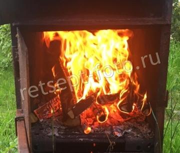 Как коптить сома в коптильне горячего копчения