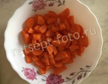 Картофельно-морковный суп-пюре для детей 1 год