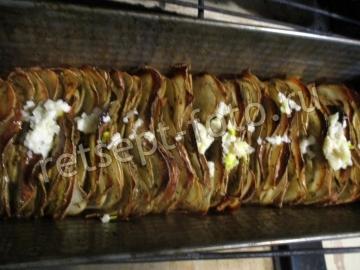 Картофельные слайсы запеченные в духовке