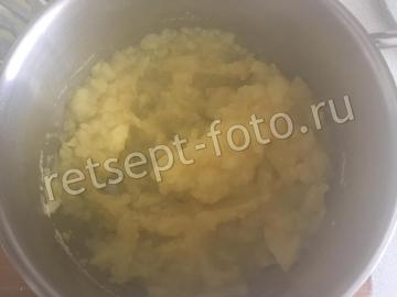 Картофельные вафли с колбасой в мультипекаре