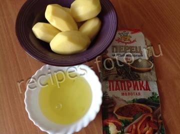 Картошка фри с яичным белком в духовке рецепт с пошагово в