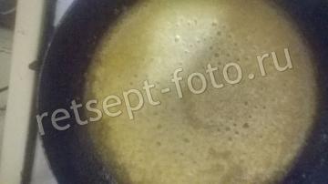 Кекс на молоке и растительном масле с яблоками