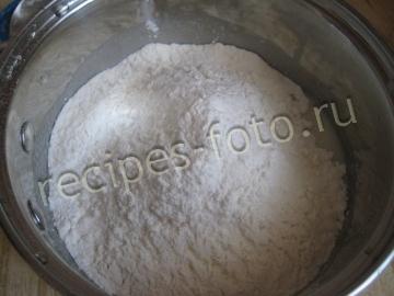 Кексы на кефире с начинкой из варенья