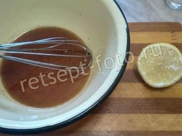 Кета в соевом соусе в духовке