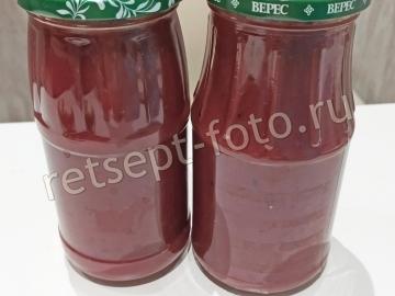 Кетчуп из слив с помидорами на зиму
