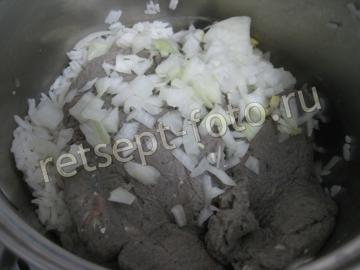 Котлеты из салаки с рисом