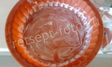 Кулич без дрожжей с шоколадной глазурью