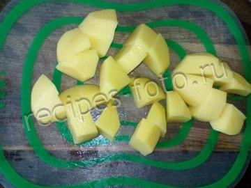 Куриная печень с картошкой для детей до 1 года (от 7 месяцев)