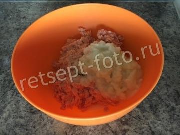Куриные котлеты с кабачком и картошкой для детей до 1 года