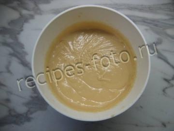 Лимонный кекс со сгущенкой