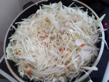 Макароны с мясом и капустой – вторые блюда