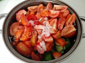 Маринованные овощи ассорти «Лето в банке» на зиму