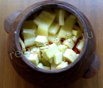 Овощное рагу в пакете для запекания