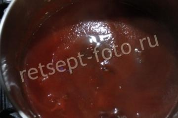 Паста с курицей в кисло-сладком соусе