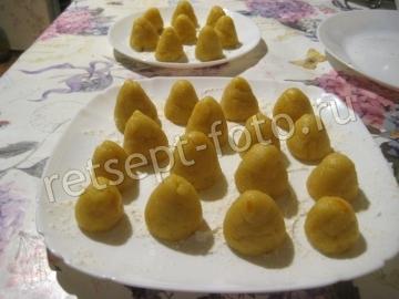 """Печенье """"Трюфель"""" на вареных желтках"""