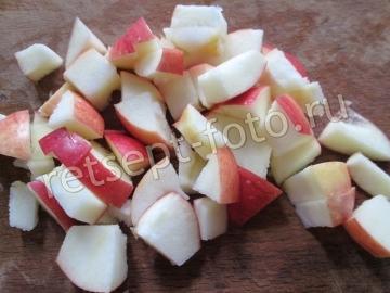 Пирог с айвой и яблоками