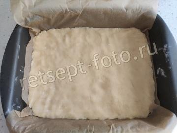 Пирог с кокосовой стружкой и сгущенкой