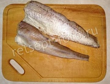 Рыбные котлеты из хека с хлебом