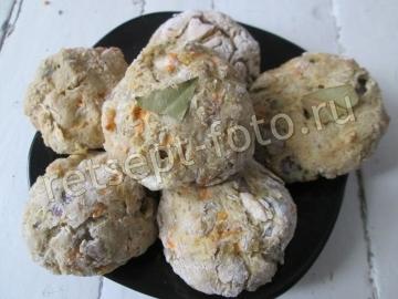 Рыбные котлеты из хека в духовке
