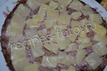Торт в мультиварке на кефире со сметанным кремом рецепт с фото
