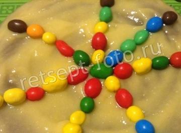 Шоколадный торт с лимонным курдом