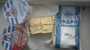Сметанно-масляный крем для торта