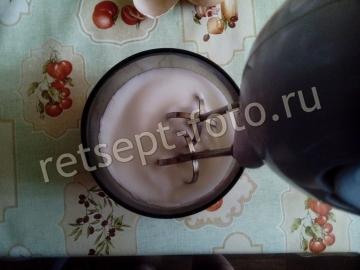 Суфле из белков с какао без желатина в микроволновке