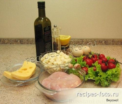 """Салат """"Цезарь"""" самый простой рецепт"""