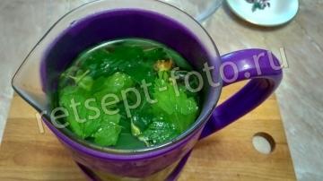 Травяной чай с огорода