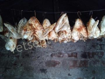 Варено-копченые крылышки в домашних условиях