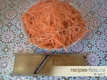 Морковь по корейски без лука