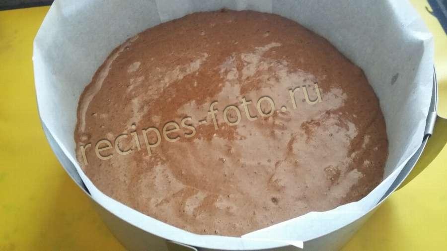 Торт пьяная вишня с заварным кремом пошаговый рецепт с