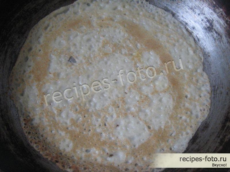 начинка из колбасы для блинов рецепты