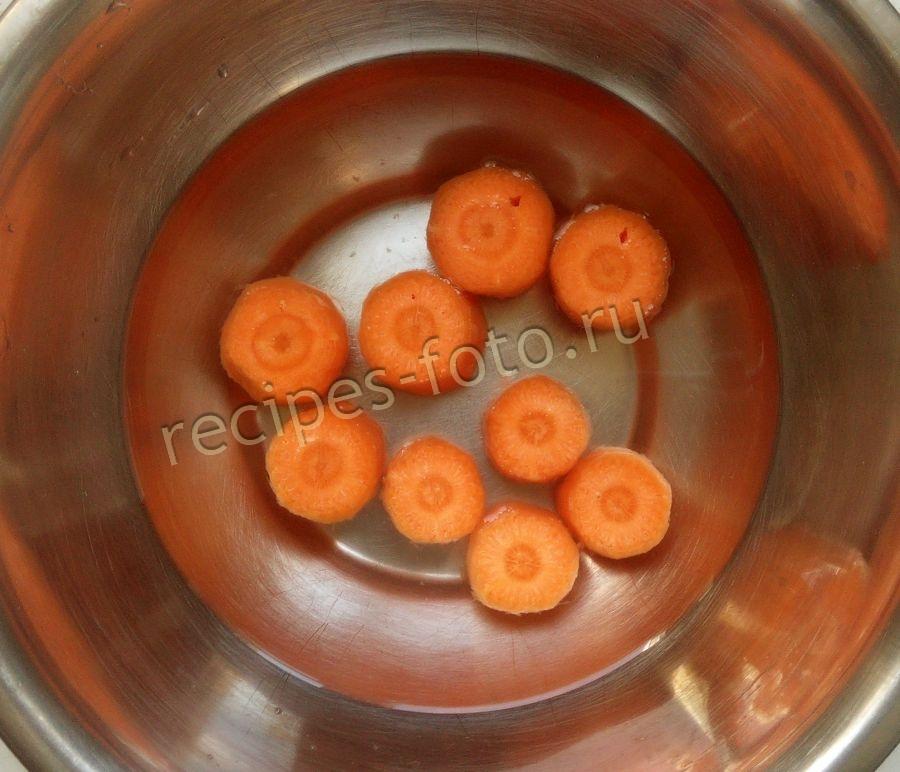 морковно-яблочное пюре для грудничка рецепт с фото
