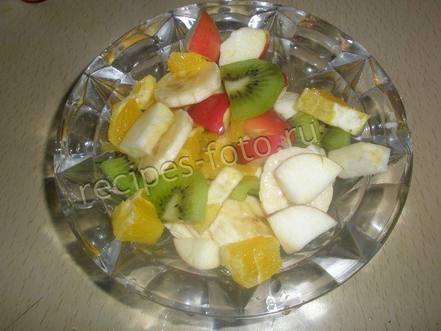 Фото фруктового салата для детей