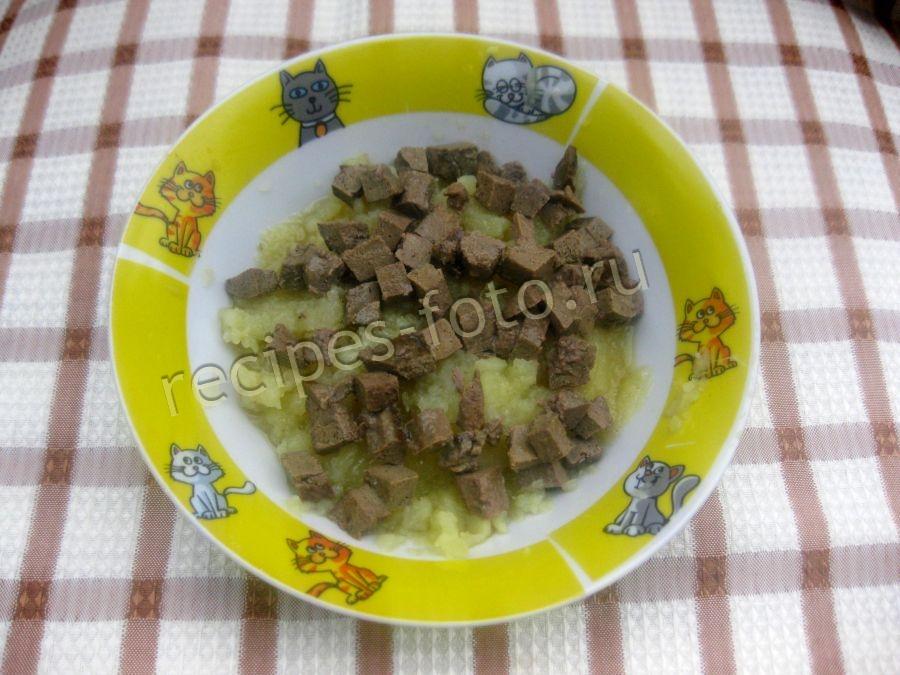 Суп из говяжьей печени для ребенка 1