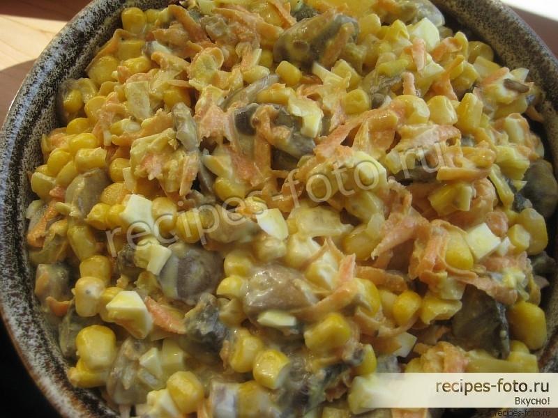 Рецепт мясо с кукурузой