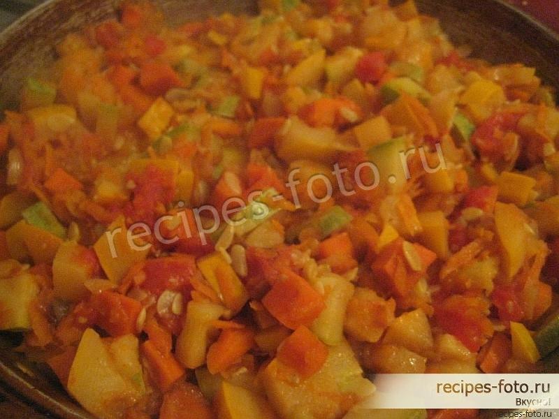 кабачковая икра рецепт как в магазине с помидорами