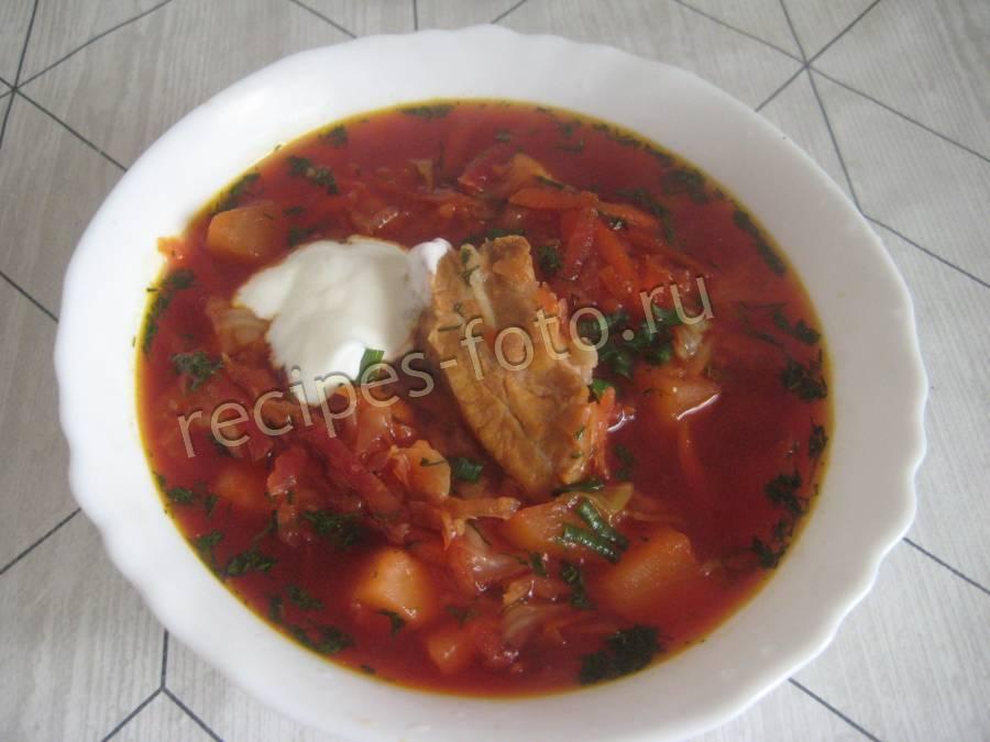 классический суп с фасолью рецепт с фото
