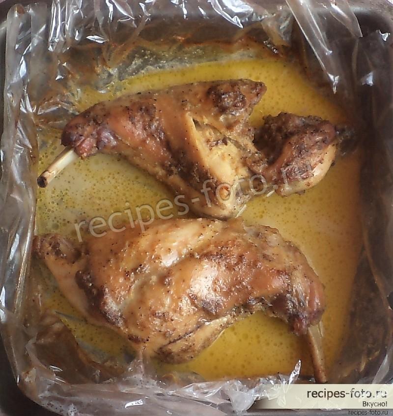 Как приготовить кролика в духовке с пошагово