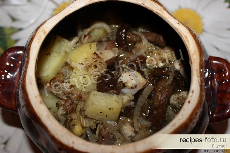 Суп с картошкой в духовке рецепт 86