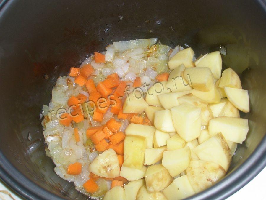 Овощное рагу с кабачками без картошки в мультиварке