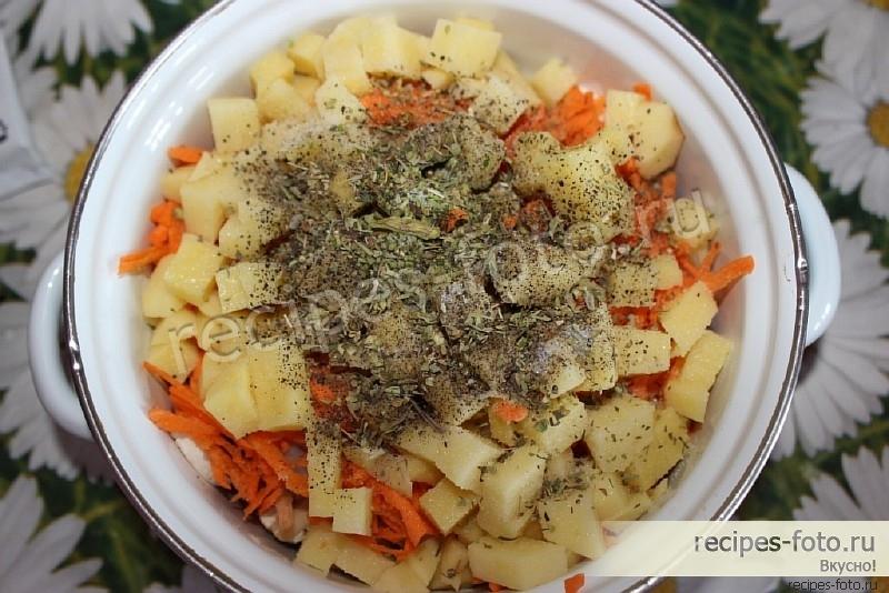 Рагу с овощами пошаговый рецепт с