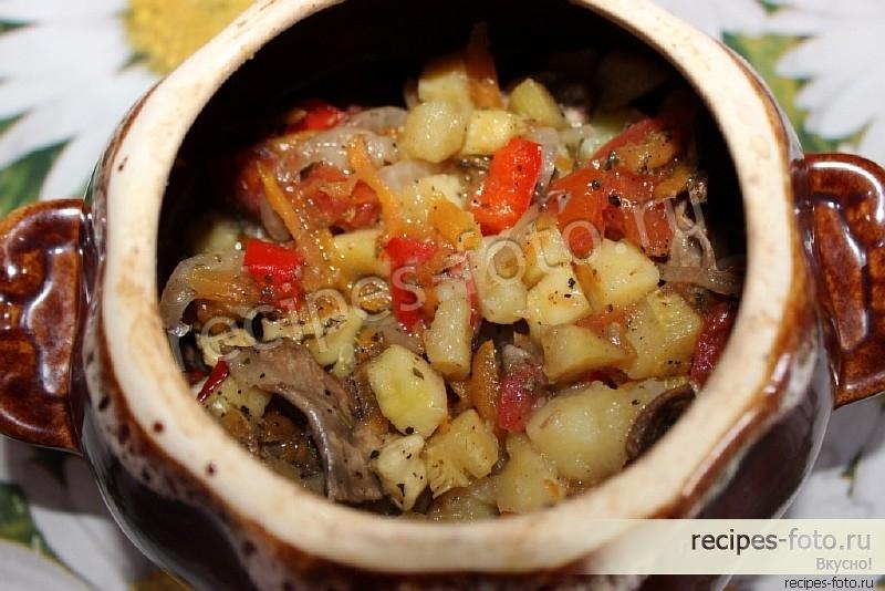 Рецепт овощного рагу с кабачками и курицей с пошагово